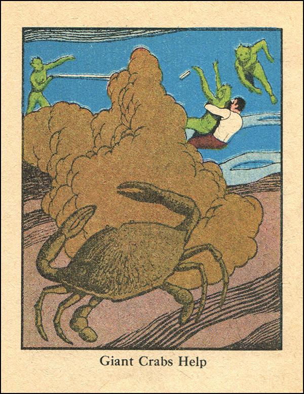 Giant Crabs Help